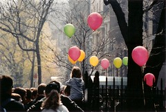 Assembling for the Brooklyn Heights easter egg hunt