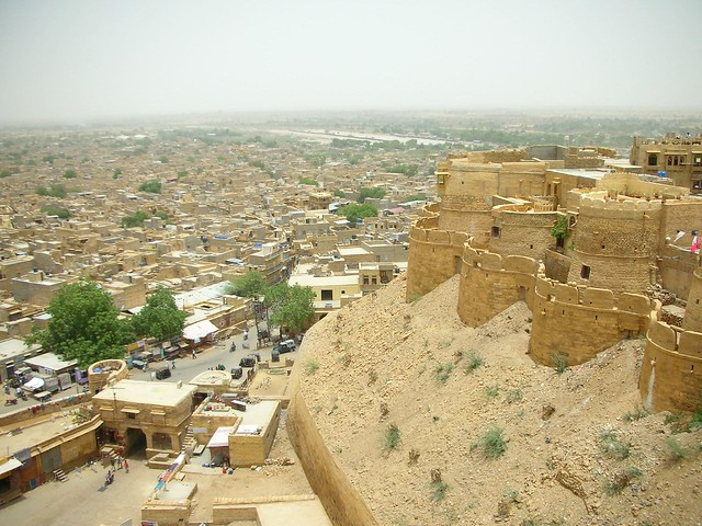 View From Jaisalmer Fort by CC user tomm on Flickr
