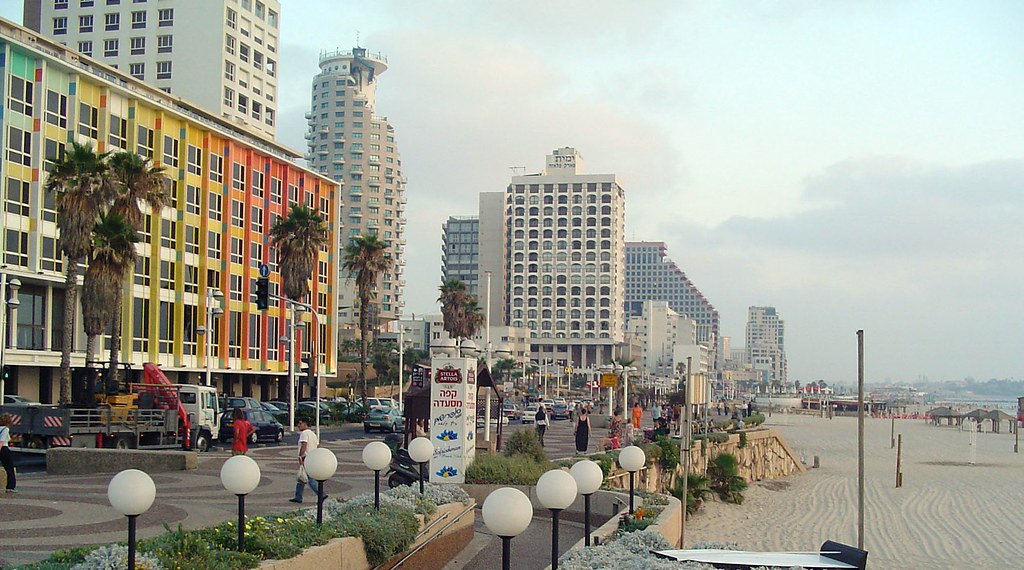 Photo: Herbert Samuel Street, Tel Aviv