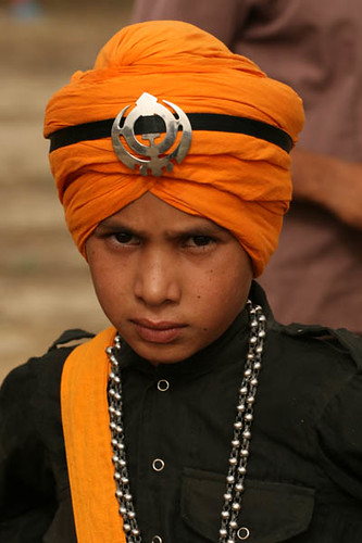 Gatka Team Member for the Camera, Amritsar (INDIA)