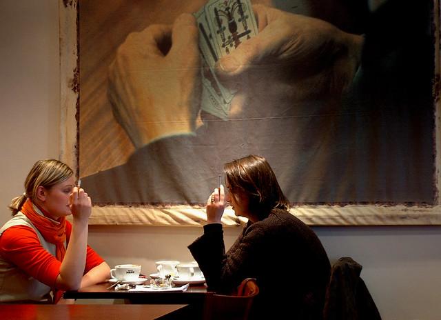 Café  Smokers