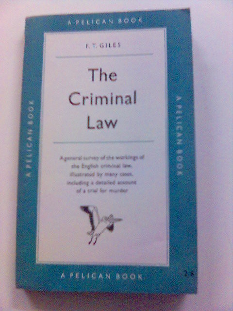 Jurisprudence of Criminal Law