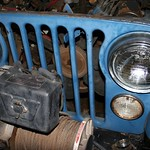1973 Jeep CJ5 And Warn Winch With Radiator Removed