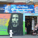Bob Marley mural on Haight street by Franco Folini
