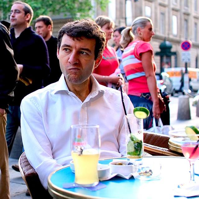 Tourist in Paris