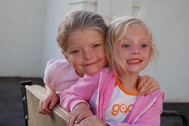 Beautiful little girls