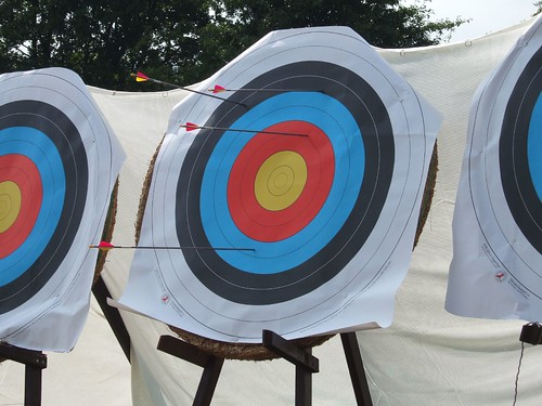 Arrows in archery targets | by Ben Sutherland