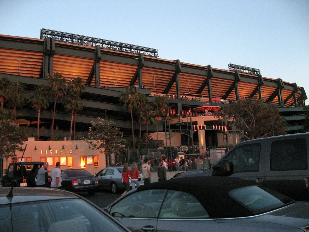 Angel Stadium (of Anaheim)