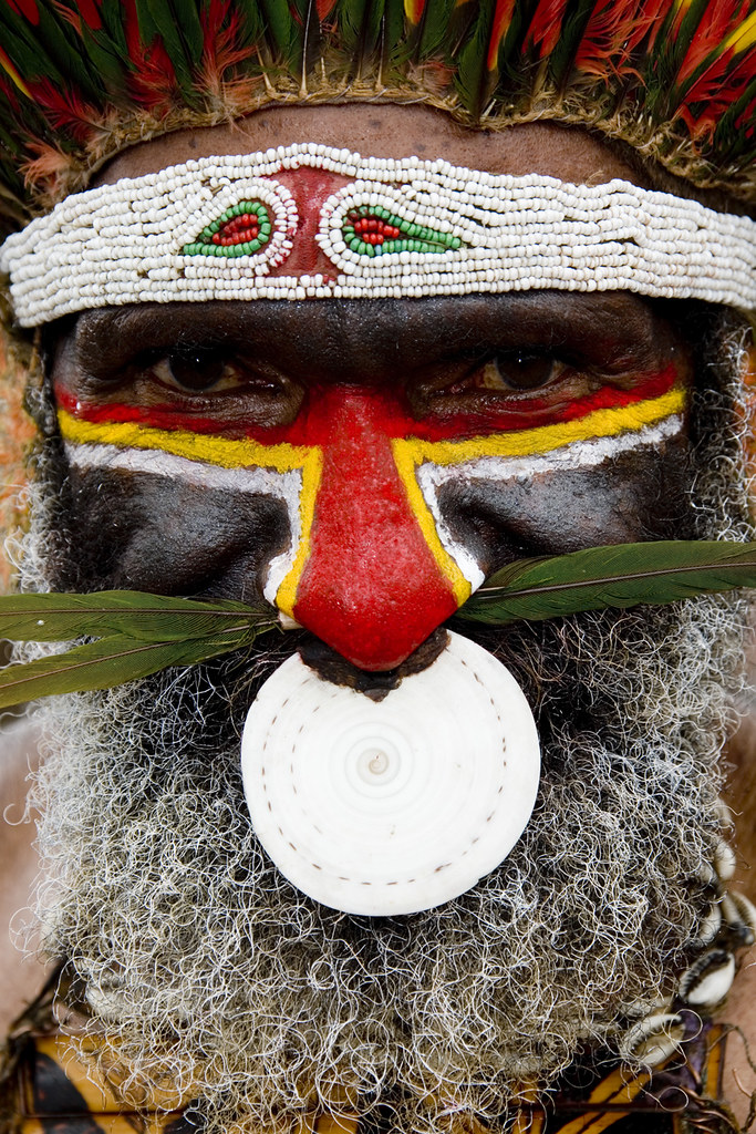 Papua New Guinea - nose ring