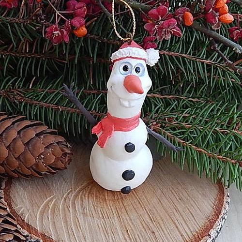 Olaf Christmas tree ornament | My Etsy shop: ViaLatteaArt ...