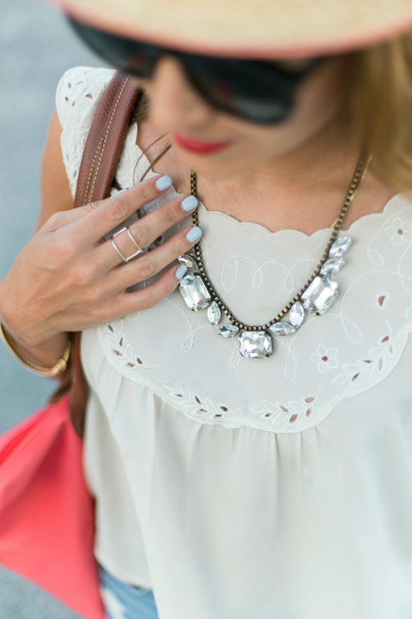 Loren Hope Blythe Necklace via Rocksbox