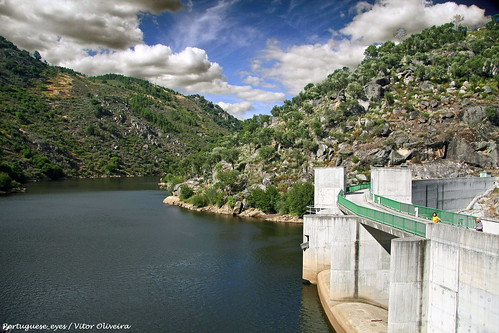Barragem de Rebordelo - Portugal