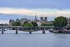 Le Pont des Arts et l'Île de la Cité by David Briard