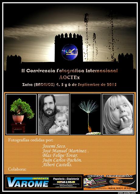 Cartel Oficial de la Convivencia AOCTEx 2015 20856260215_e5bb095363_z