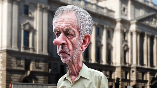 Jeremy Corbyn - Caricature