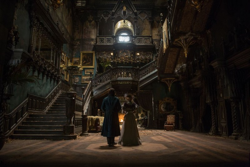 Crimson Peak House location