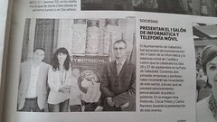 Rueda de prensa de TECNOCYL en los medios.