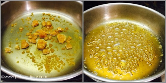 Jaggery Poha for babies & toddlers- step 2