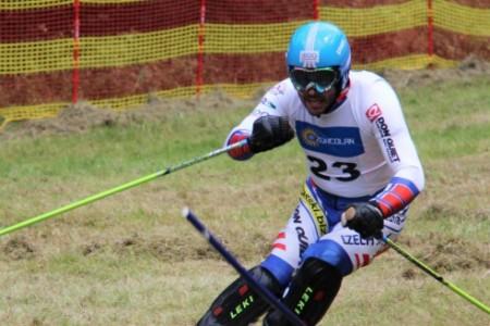 Jan Němec je počtrnácté mistrem světa v travním lyžování