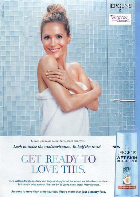 Jergens with Leslie Mann Ad