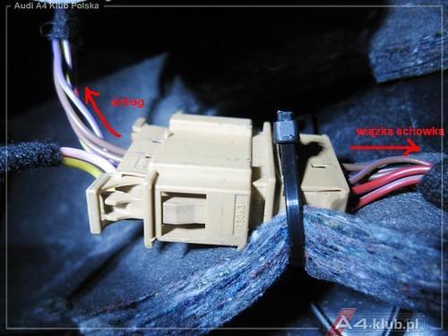 70944 - Instalacja przełącznika deaktywacji poduszki pasażera AIR BAG OFF - 8
