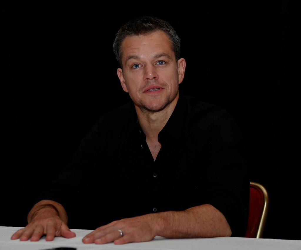Мэтт Деймон — Пресс-конференция «Марсианин» на «TIFF» 2015 – 5