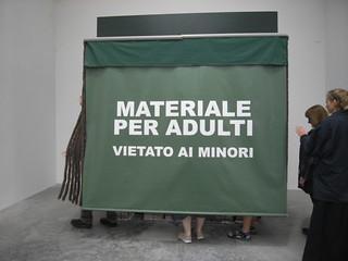 Spanish porn, Venice Biennale Giardini
