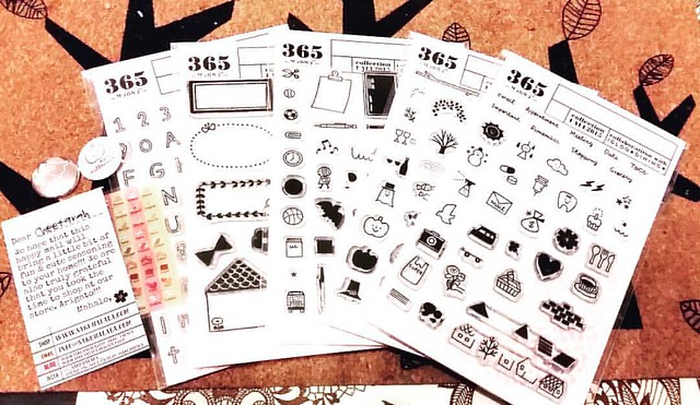 They are here! Thanks so much for this awesome giveaway @_sakuralala_ I love these stamps so much and I can't wait to use them! Mahalo 😊 #sakuralala #365 #rubberstamps #plannerlove #plannerlife #planneraddict