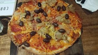 Hawaiian Pizza from Cornish Arms