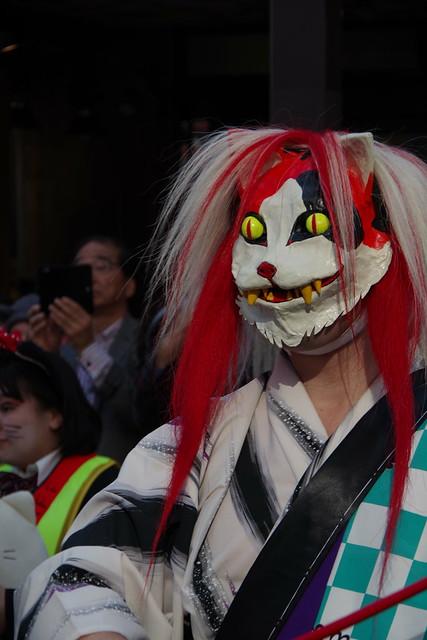 Cat's Halloween Parade in Kagurazaka 2015 05