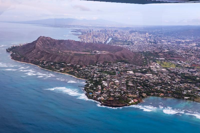 Diamond Head & Waikiki & Kupikipikio Point