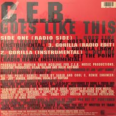 C.E.B.:GOES LIKE THIS(JACKET B)