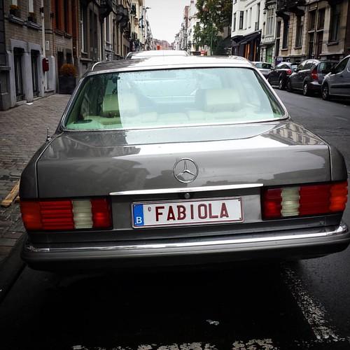 '100% Belgian' - #Brussels #Belgium #Fabiola #photography #Mercedes #street