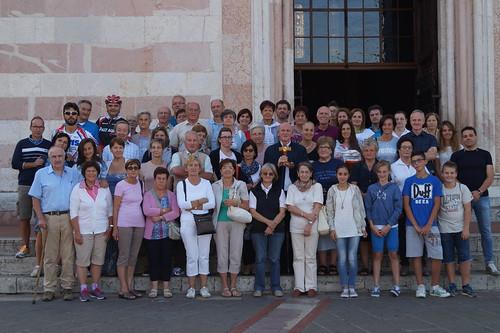 Pellegrinaggio Assisi, 2015