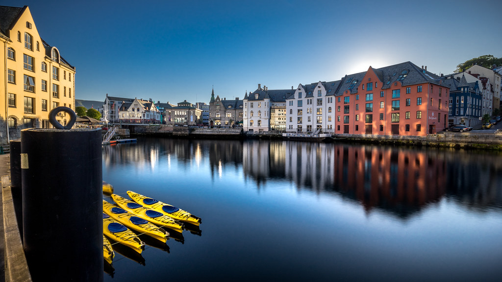 Alesund, Norway, Travel photography picture