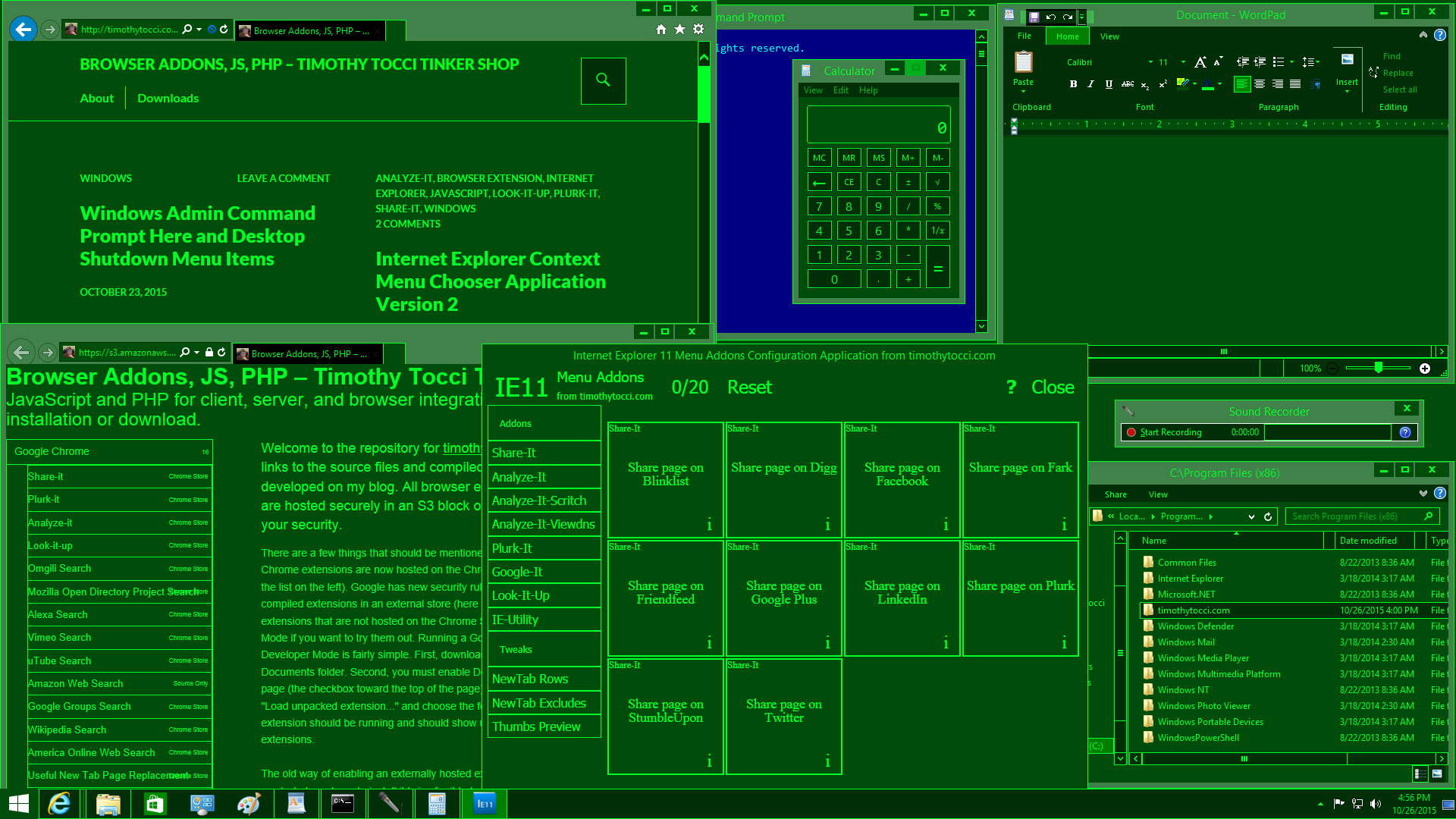 Windows 8 Desktop Apps