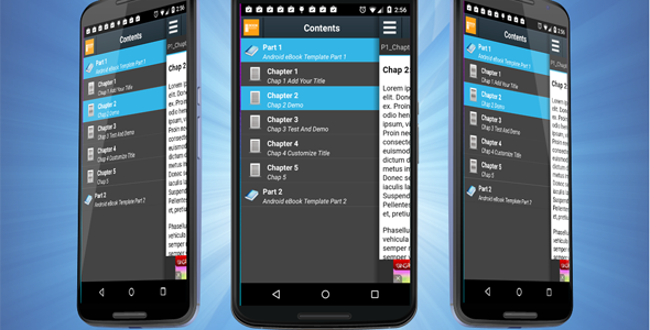 CodeCanyon Android eBook Template with Admob v1.0