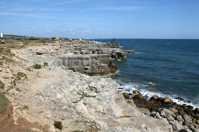 The coast at Portland Bill