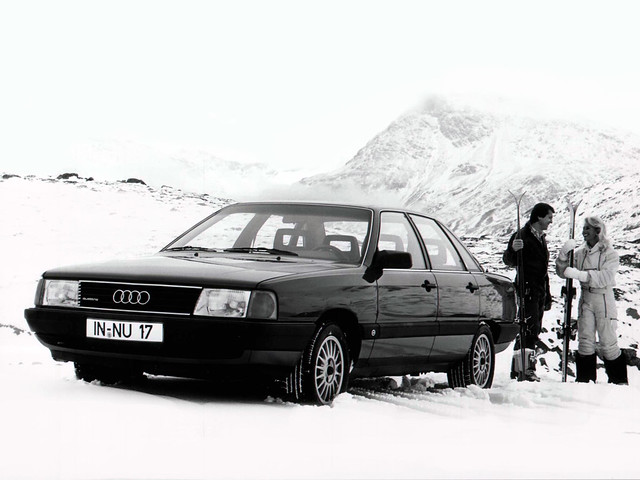 Полноприводный седан Audi 100 C3 quattro. 1982 – 1987 годы