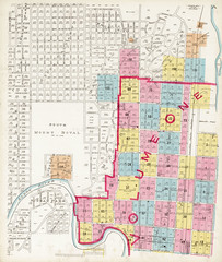 Insurance plan, volume 1, sheet A, Calgary, Alberta, October 1911 / Plan d'assurance-incendie, volume 1, feuille A, Calgary (Alberta), octobre 1911