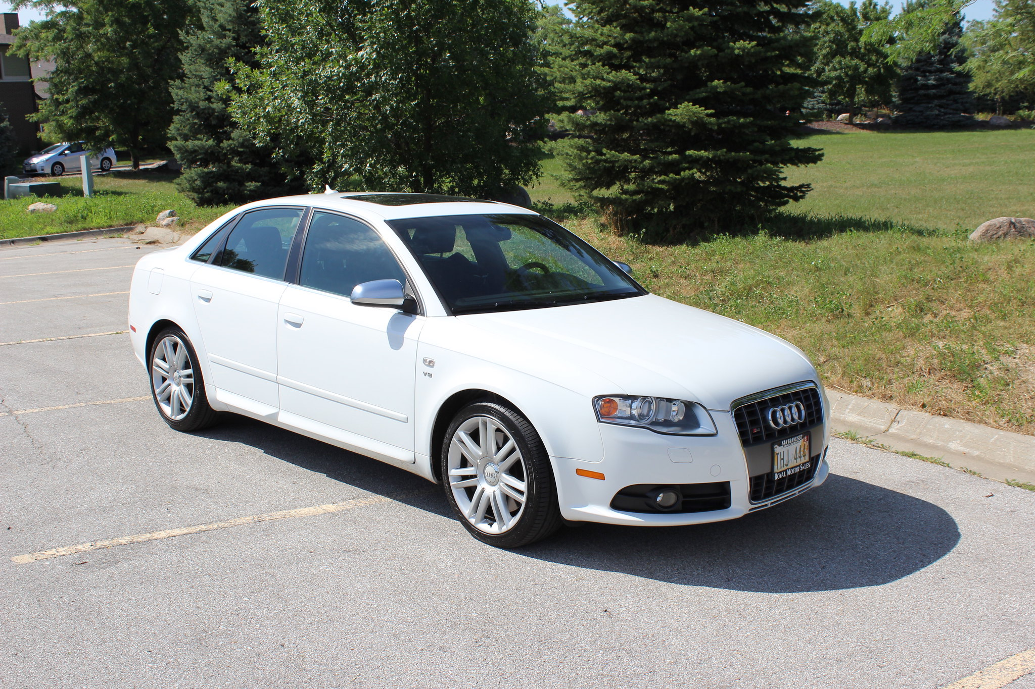 audi other fs 2007 ibis white audi s4 perfect condition fully loaded audiworld forums. Black Bedroom Furniture Sets. Home Design Ideas