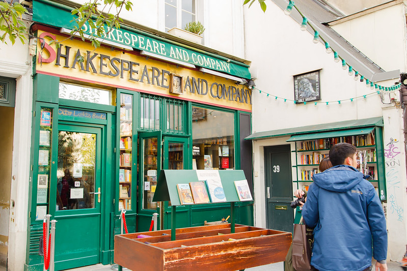 Shakespeare and Co Café, Paris