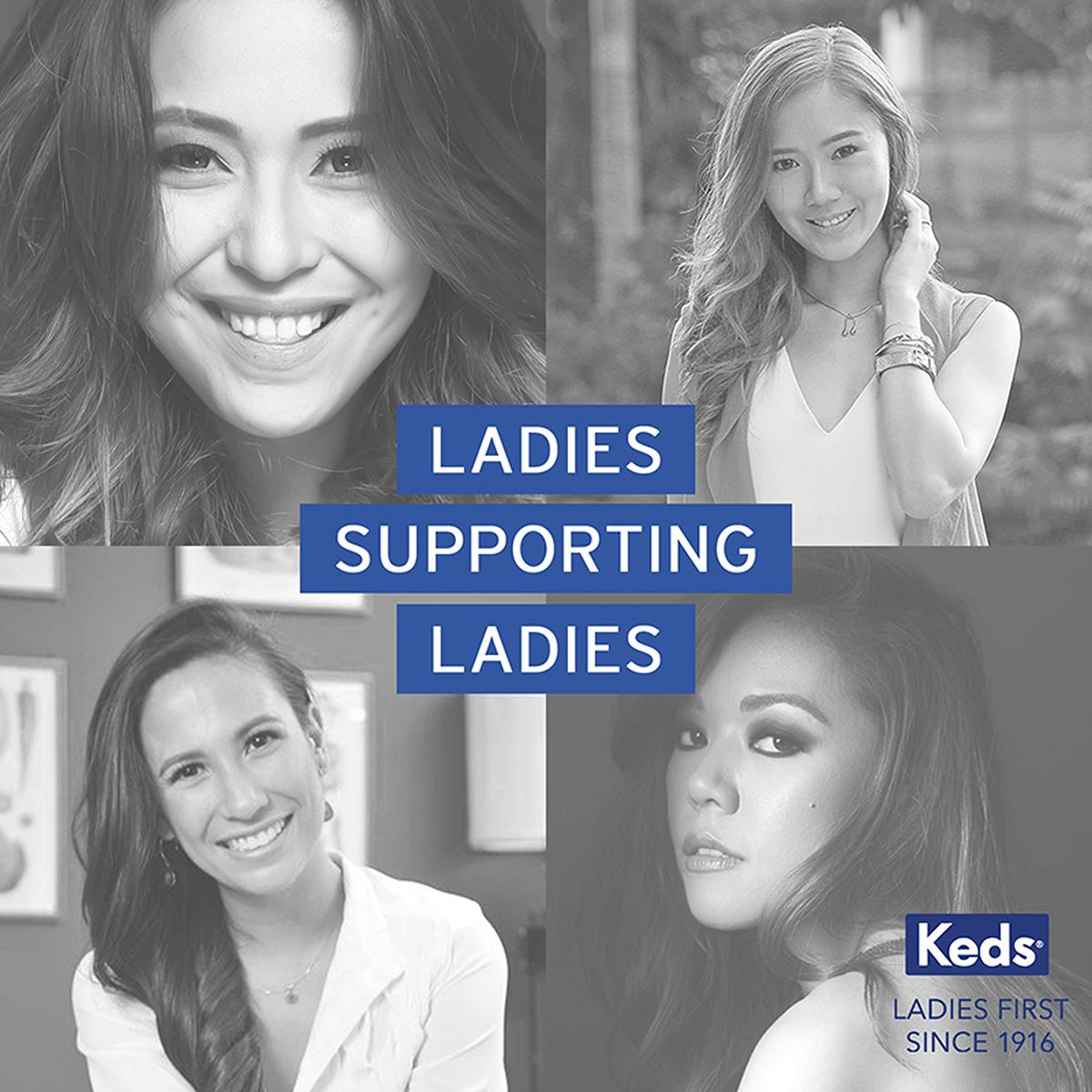 Trice Nagusara Keds Ladies Supporting Ladies