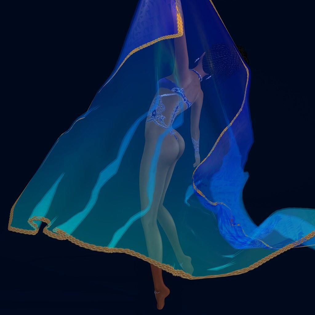 Arabian veil prop, LDG