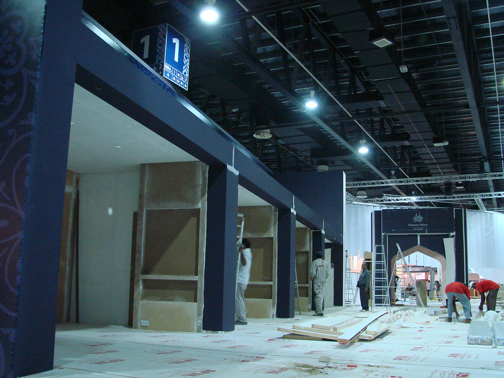Exhibition Stand Abu Dhabi : Exhibition stand fitting and execution dubai uae abu dhabi
