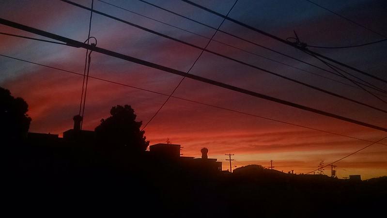 Stuart Gaffney's Sunset Skyline