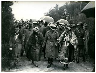 Prince of Wales, Whakarewarewa, Rotorua, Royal Tour 1920