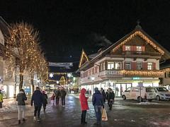 Garmisch winter night