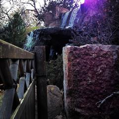 sasebo fence and waterfall