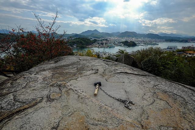 尾道-千光寺-鼓岩